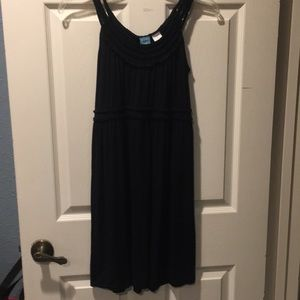 Barney's CO OP Black cotton dress